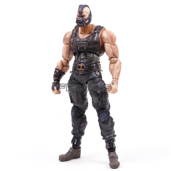 The Dark Knight Trilogy Bane Sanat Kai Oyna Kare Enix PVC Action Figure Koleksiyon Model Oyuncak -